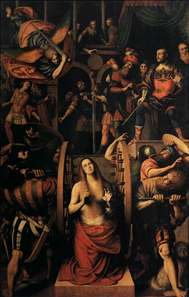 The Martyrdom of St Catherine of Alexandria