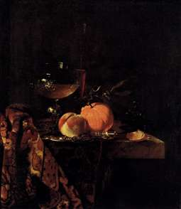 Still-Life with Glass Goblet and Fruit
