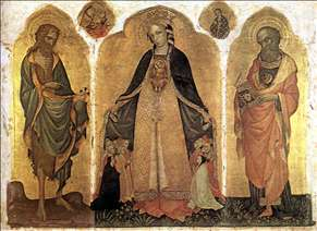 Triptych of the Madonna della Misericordia