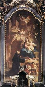 Appearance of the Virgin to St Anthony