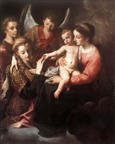 The Mystic Marriage of St Catherine
