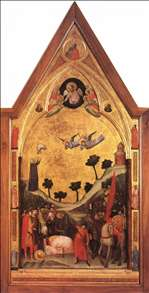 The Stefaneschi Triptych: Martyrdom of St Paul