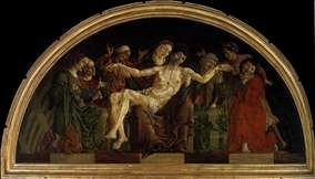 Pietà (panel from the Roverella Polyptych)