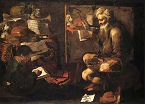 The Painter's Studio
