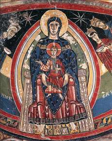 The Madonna Enthroned