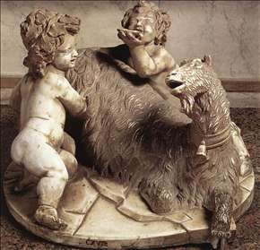 The Goat Amalthea with the Infant Jupiter and a Faun - Gian ...