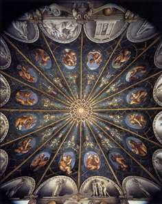 Ceiling of the Camera di San Paolo