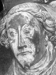 Head from the effigy of Richard II