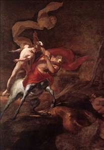 The Education of Achilles by Chiron
