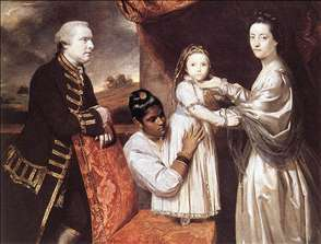 George Clive and his Family with an Indian Maid