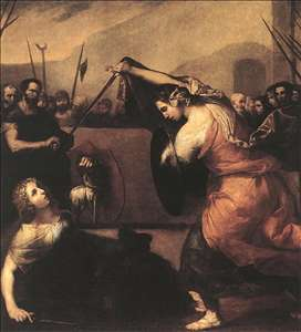 The Duel of Isabella de Carazzi and Diambra de Pottinella