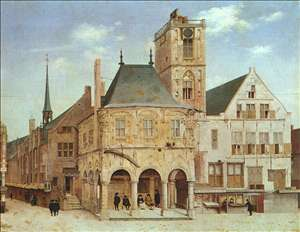The Old Town Hall in Amsterdam