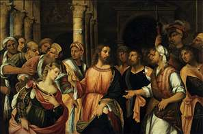 Christ and the Adulteress - Rocco Marconi Gallery - religious ...