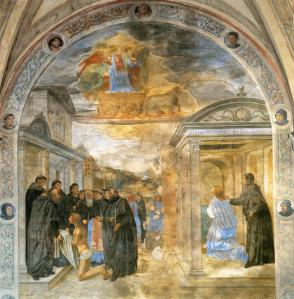 Scene from the Life of St Filippo Benizzi