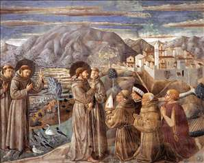 Scenes from the Life of St Francis (Scene 7, south wall)