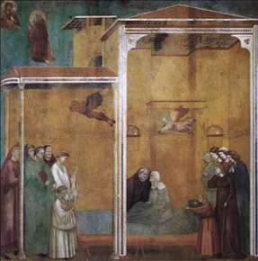 Legend of St Francis: 27. Confession of a Woman Raised from the Dead