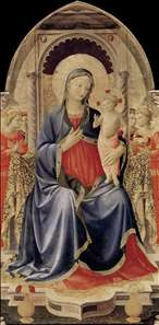 Cortona Polyptych (central panel)