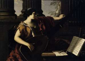 Allegorical of Music