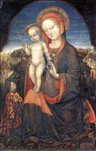 Madonna and Child Adored by Lionello d'Este