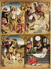 Scenes from the Legend of St George