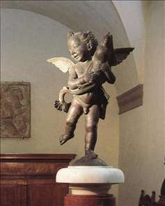 Putto with Dolphin