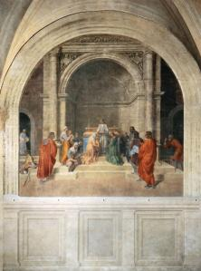 Miraculous Cure by Relics of Filippo Benizzi