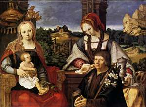 Virgin and Child with the Magdalen and a Donor