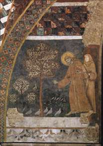 Scenes from the Life of St Francis: Francis Preaching to the Birds
