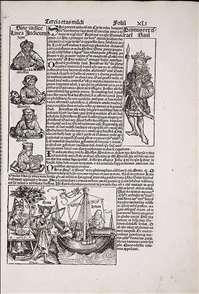 Nuremberg Chronicle, page XLI (recto)