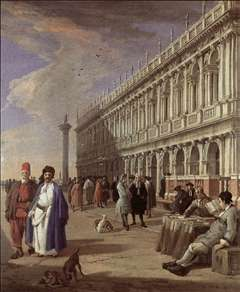 The Piazzetta and the Library