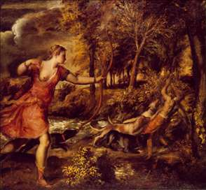 Death of Actaeon