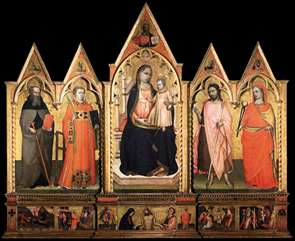 Virgin Enthroned with Saints