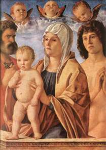 Madonna with Child and Sts. Peter and Sebastian