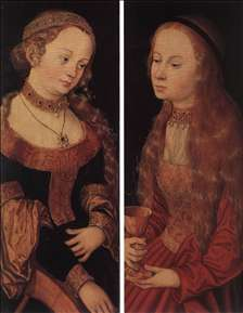 St Catherine of Alexandria and St Barbara