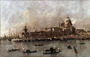 Venice: A View of the Entrance to the Grand Canal