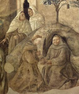 Confirmation of the Carmelite Rule (detail)