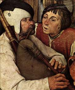 The Peasant Dance (detail)
