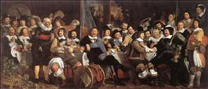 Celebration of the Peace of M�nster, 1648, at the Crossbowmen's Headquarters