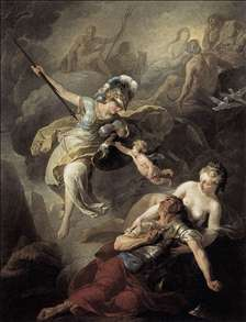 The Combat of Mars and Minerva