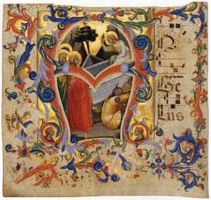Antiphonary (Cod. Cor. 1, folio 3)