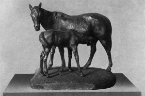 Horse with a Colt