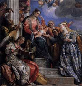 Mystical Marriage of St Catherine