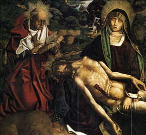 Pietà of Canon Luis Desplá