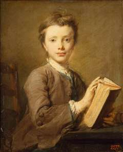 Portrait of a Boy with a Book