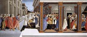 Baptism of St Zenobius and His Appointment as Bishop