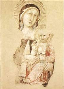 Madonna with Child (fragment)