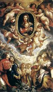 Madonna Adored by Angels (Madonna della Vallicella)