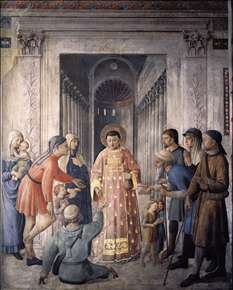 St Lawrence Distributing Alms
