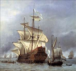 The Taking of the English Flagship the Royal Prince (detail)