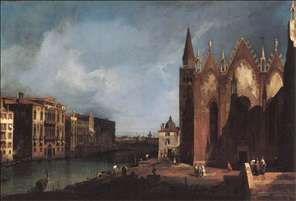 The Grand Canal near Santa Maria della Carit�